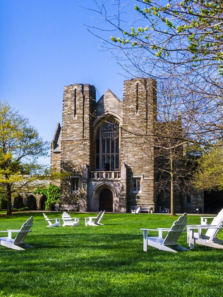 滨州斯沃斯莫尔学院(Swarthmore College),校园小花园_图1-2