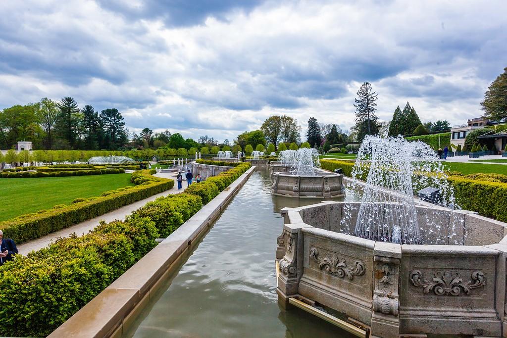 宾州长木公园,中央喷泉花园_图1-11