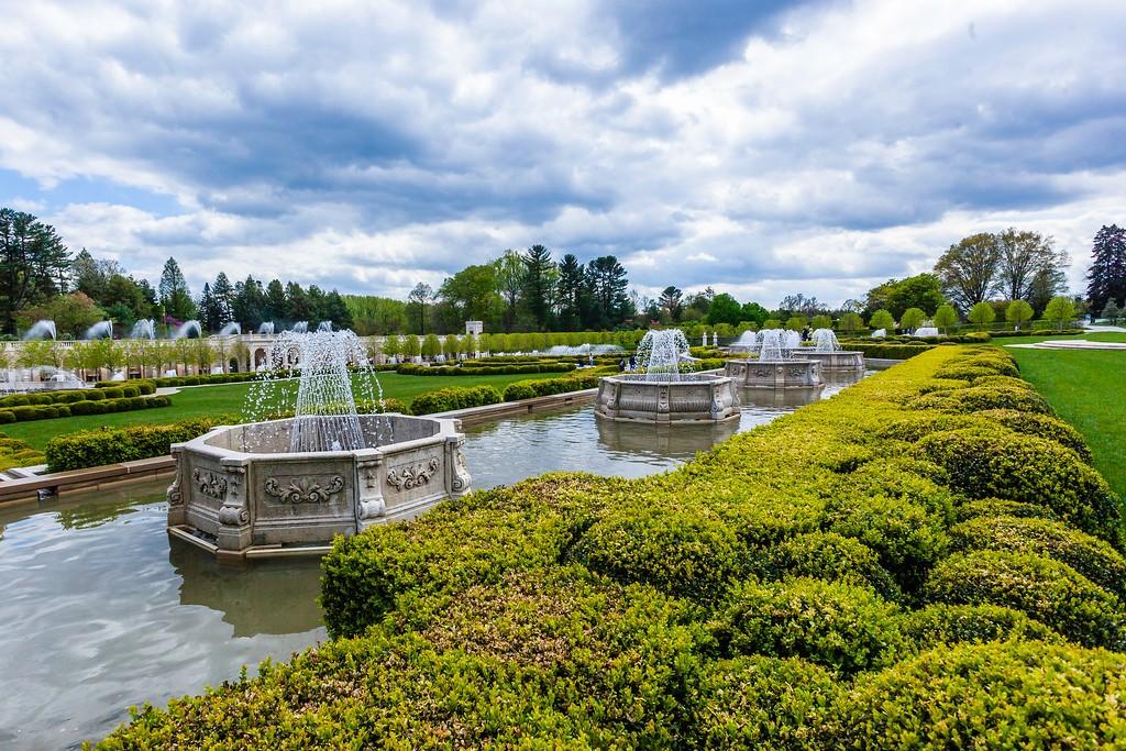 宾州长木公园,中央喷泉花园_图1-1