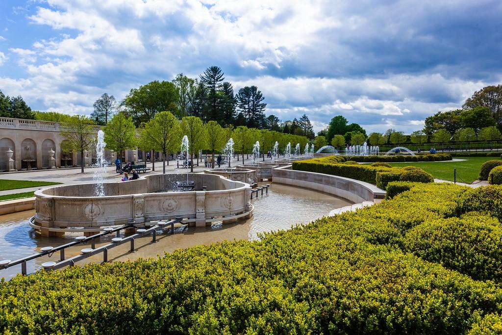 宾州长木公园,中央喷泉花园_图1-14