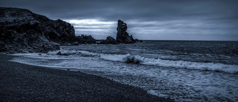 冰岛Djúpalónssandur沙滩,明星礁石_图1-2