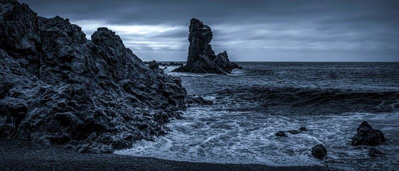 冰岛Djúpalónssandur沙滩,明星礁石_图1-3