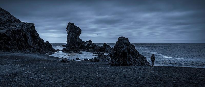 冰岛Djúpalónssandur沙滩,明星礁石_图1-1