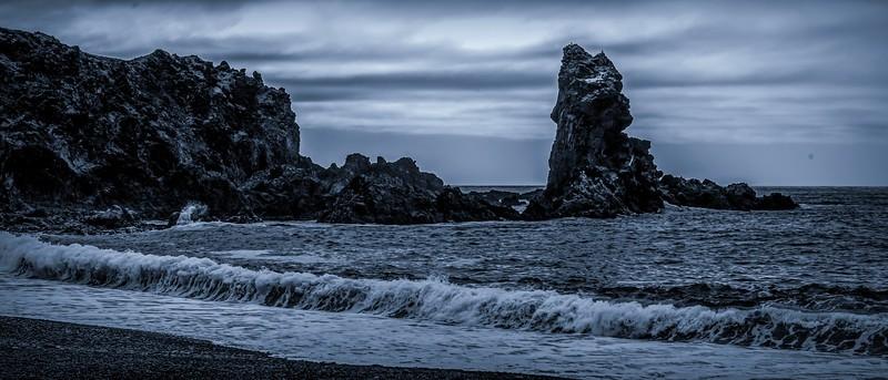 冰岛Djúpalónssandur沙滩,明星礁石_图1-4