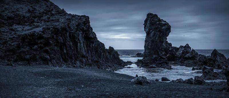 冰岛Djúpalónssandur沙滩,明星礁石_图1-10