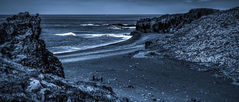 冰岛Djúpalónssandur沙滩,明星礁石_图1-9
