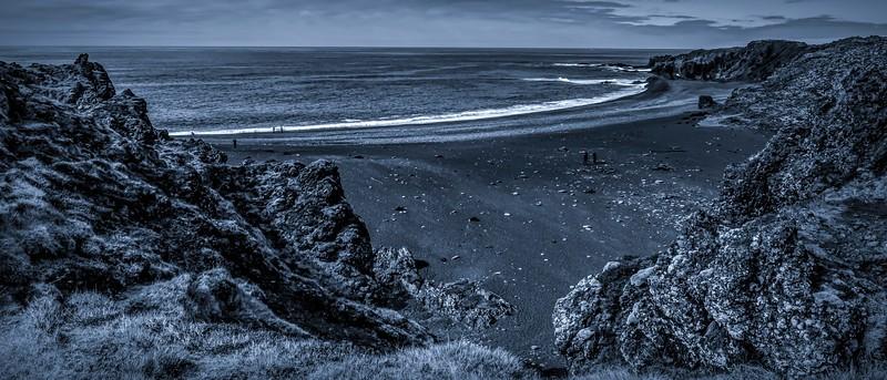 冰岛Djúpalónssandur沙滩,明星礁石_图1-6