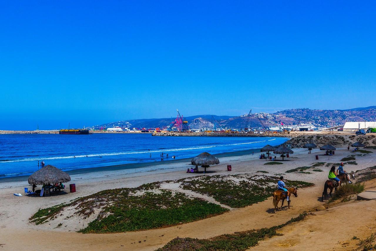 墨西哥恩森那达(ensenada),海边景色_图1-8
