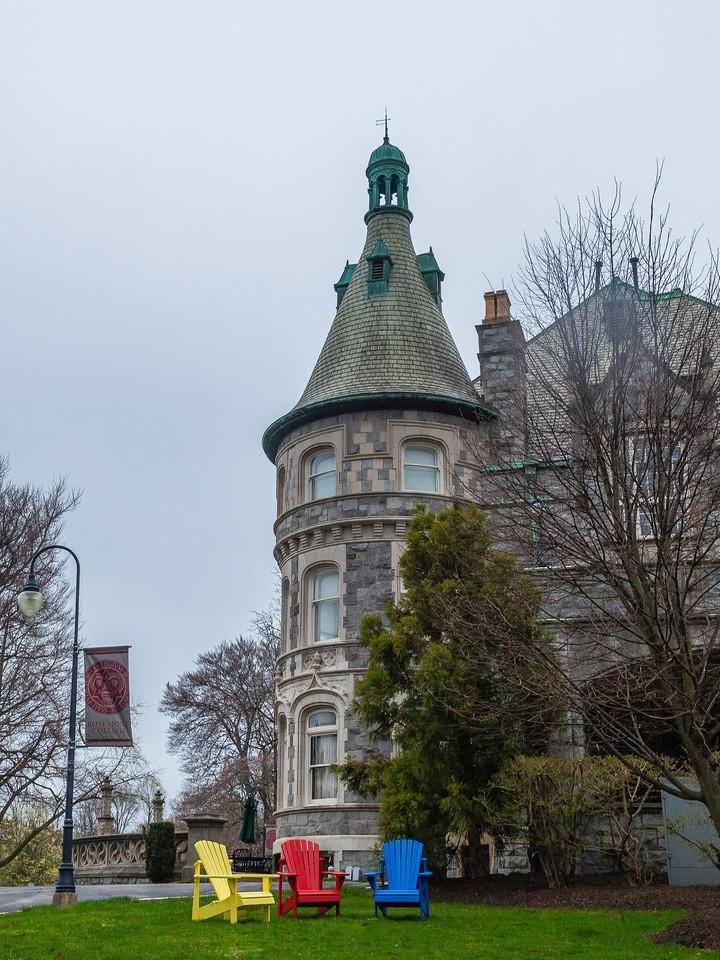 宾州罗斯蒙特学院(Rosemont College),校园记忆_图1-3