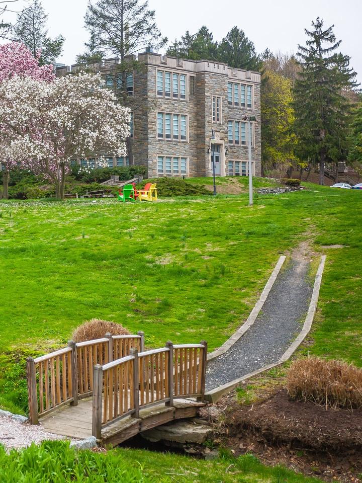 宾州罗斯蒙特学院(Rosemont College),校园记忆_图1-4