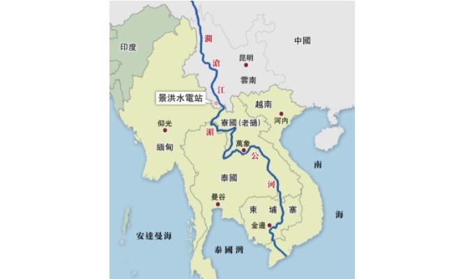 """美国印太新倡议:""""湄公河伙伴关系""""_图1-1"""