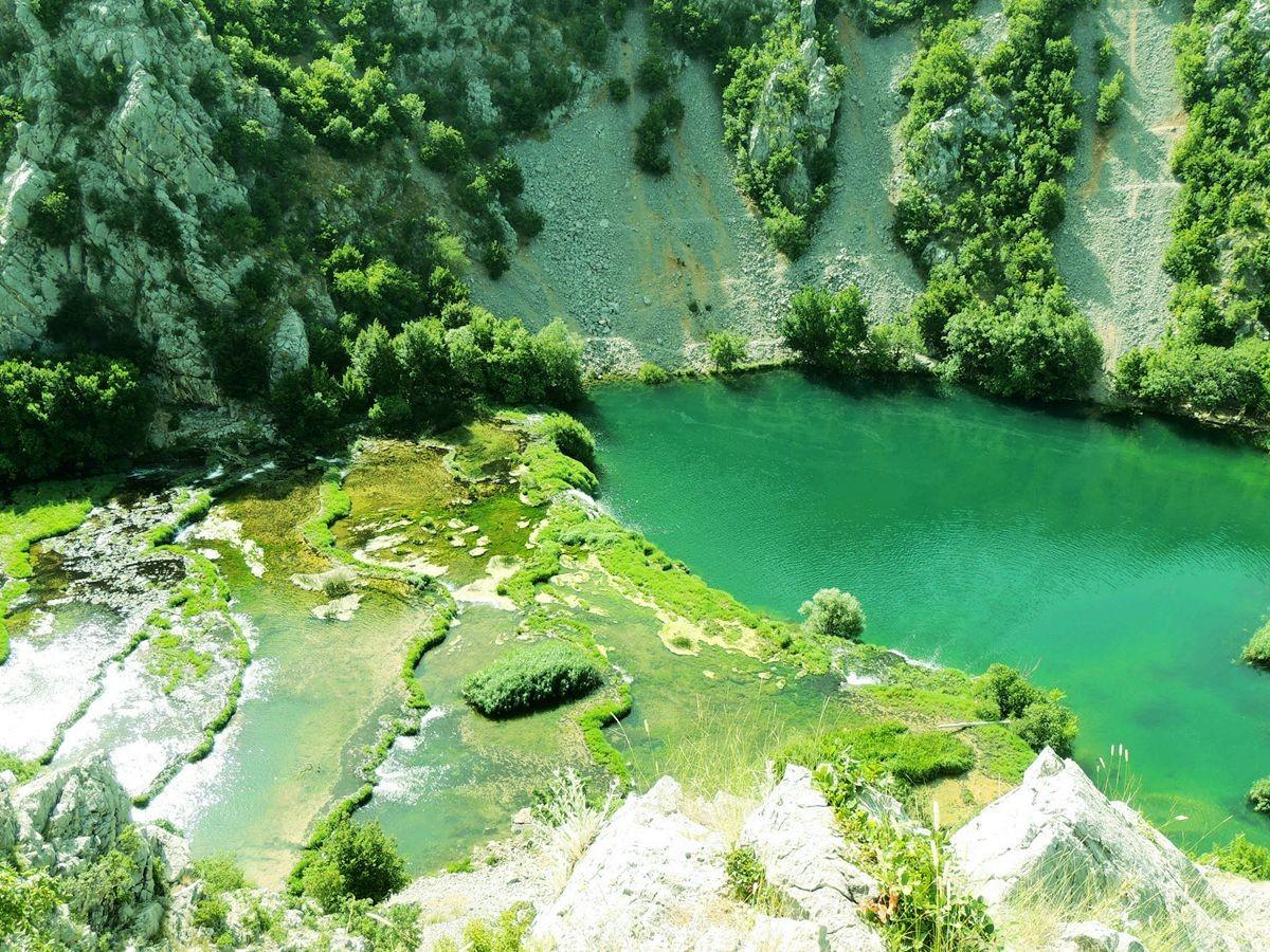 克罗地亚三河形成的湖泊_图1-6