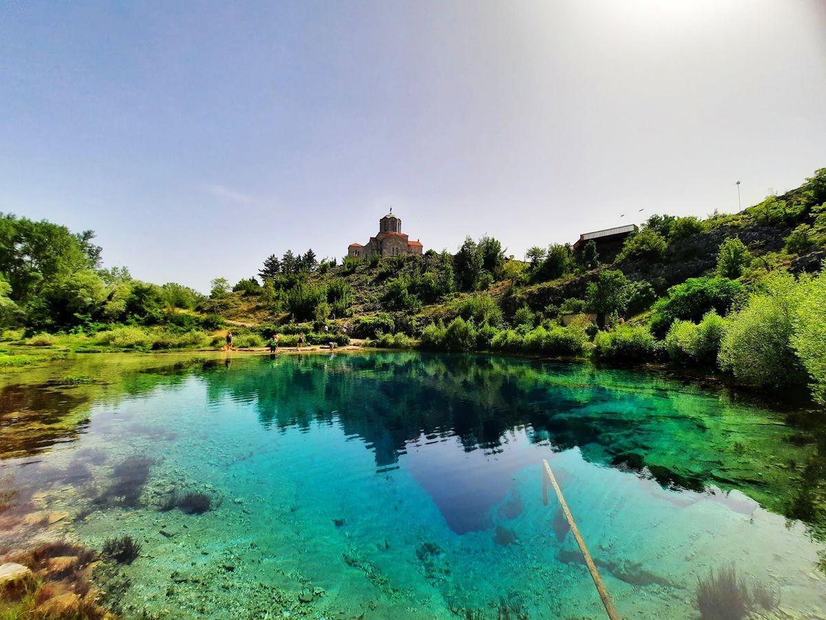 克罗地亚三河形成的湖泊_图1-9