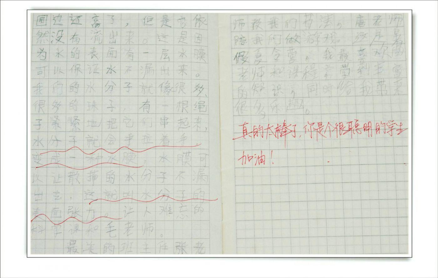 赞新学期孩子读二年级(七律)_图1-6