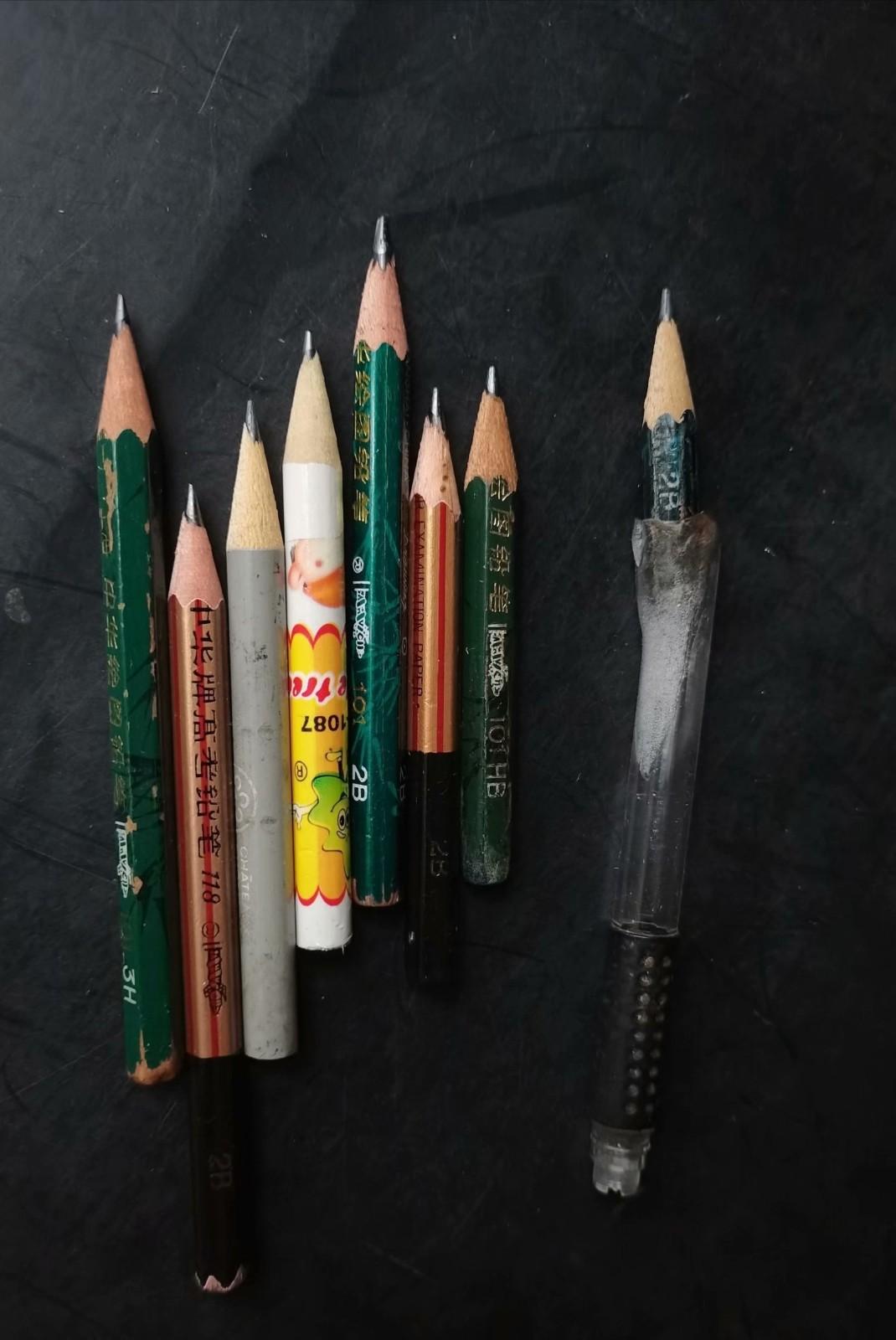 """节约永远是美德——俺""""开发""""了""""铅笔头接长器""""_图1-1"""