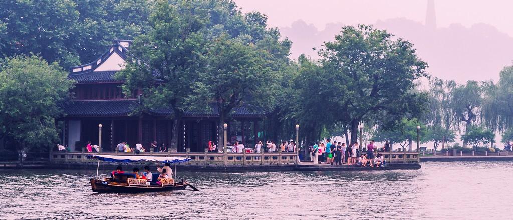 杭州西湖,诗情画意_图1-9
