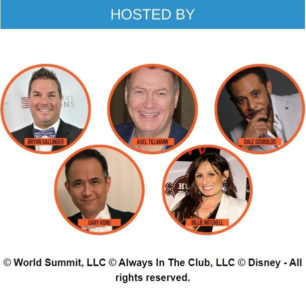 美国V视:世界峰会VIP体验活动在美国佛州迪士尼乐园举办_图1-2