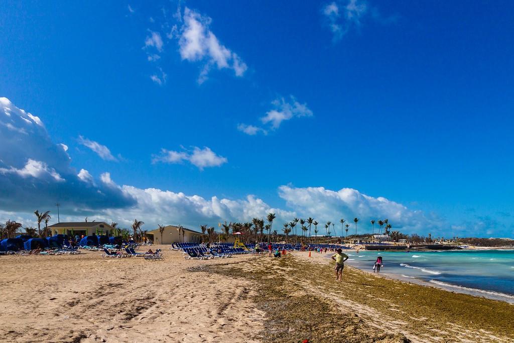 巴哈马大马镫礁(Great Stirrup Cay),海边美景_图1-13