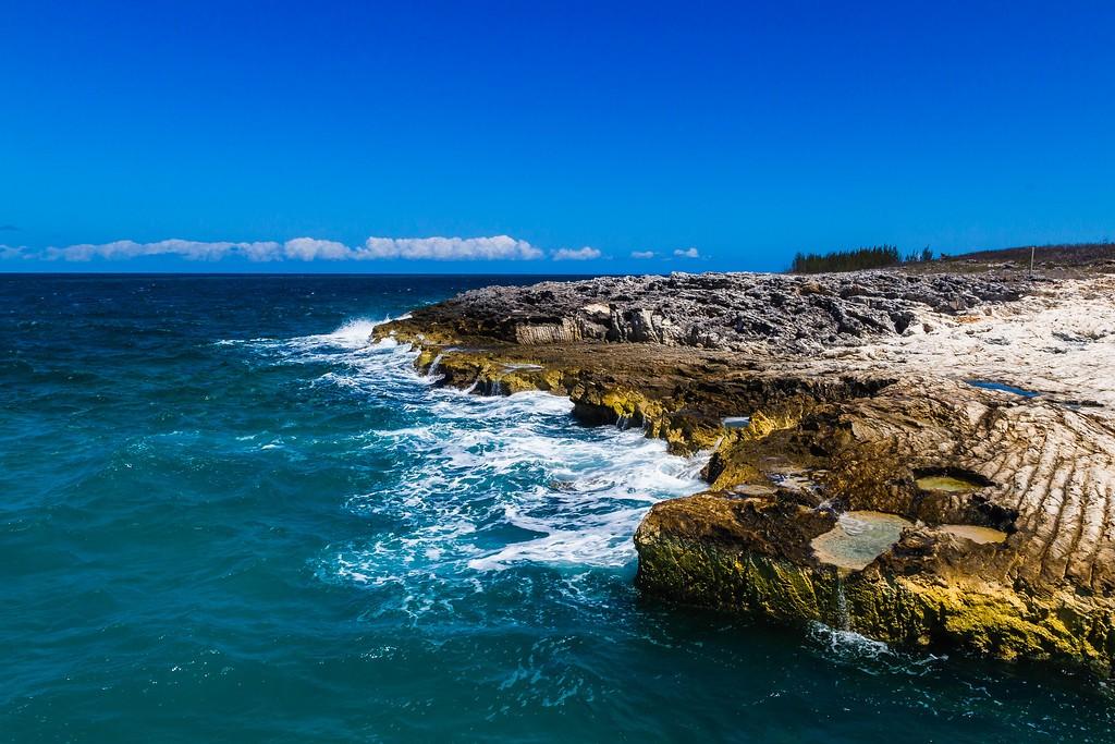 巴哈马大马镫礁(Great Stirrup Cay),海边美景_图1-11