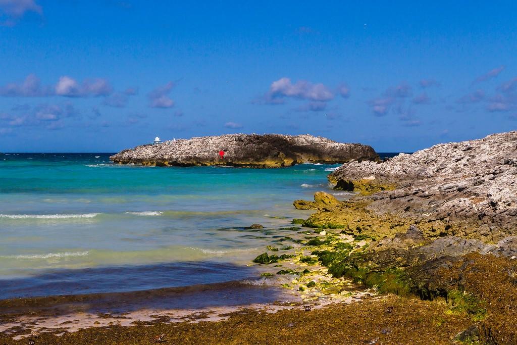巴哈马大马镫礁(Great Stirrup Cay),海边美景_图1-16
