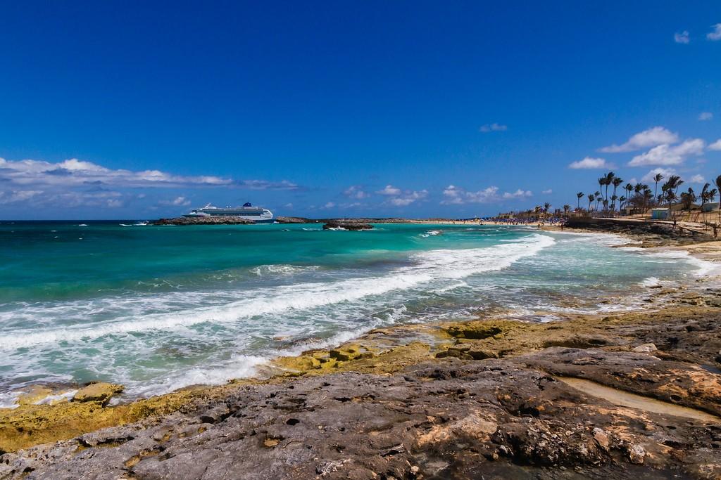 巴哈马大马镫礁(Great Stirrup Cay),海边美景_图1-19