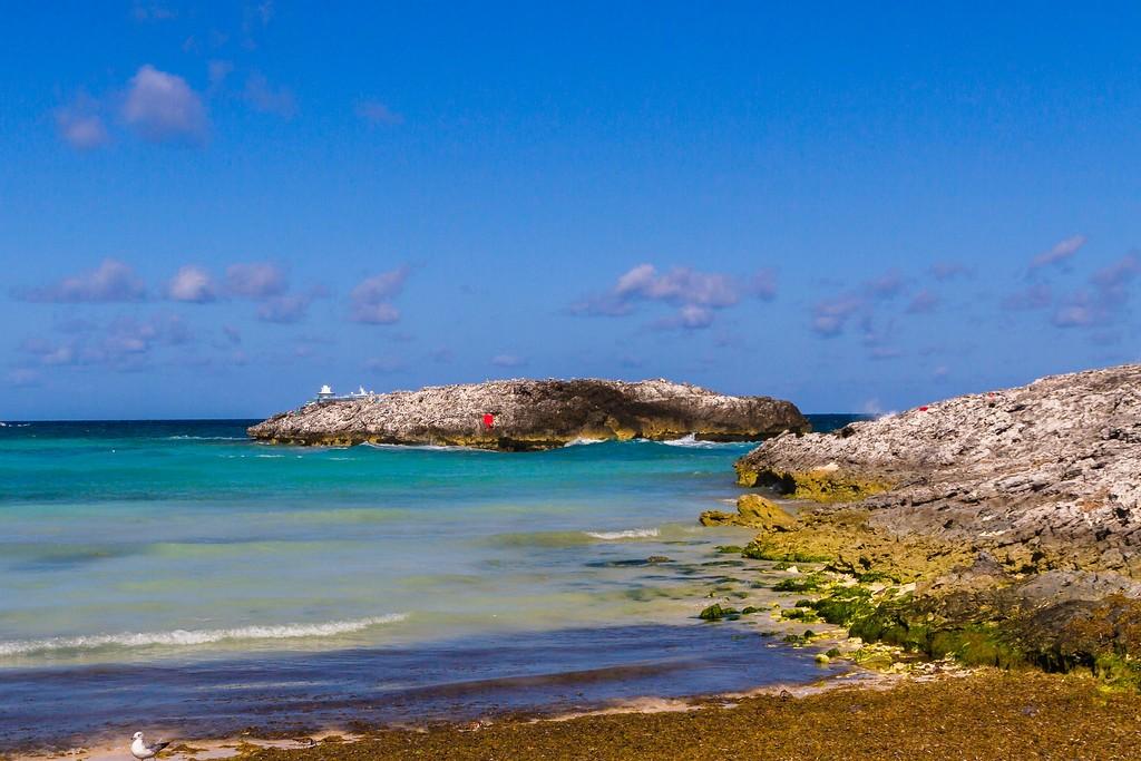 巴哈马大马镫礁(Great Stirrup Cay),海边美景_图1-5