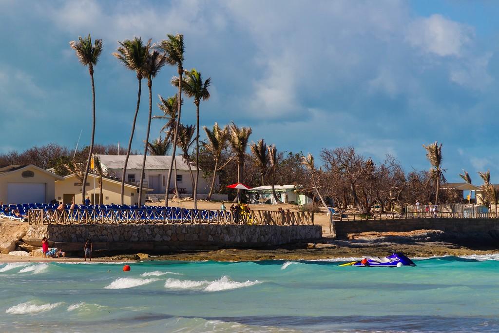 巴哈马大马镫礁(Great Stirrup Cay),海边美景_图1-18