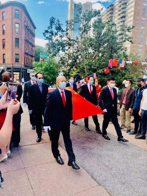 美东闽籍社团庆祝中华人民共和国成立72周年活动拉开帷幕_图1-7