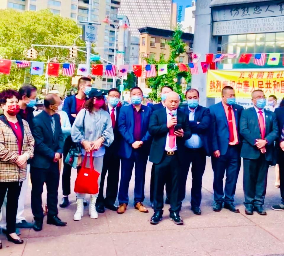 美东闽籍社团庆祝中华人民共和国成立72周年活动拉开帷幕_图1-2