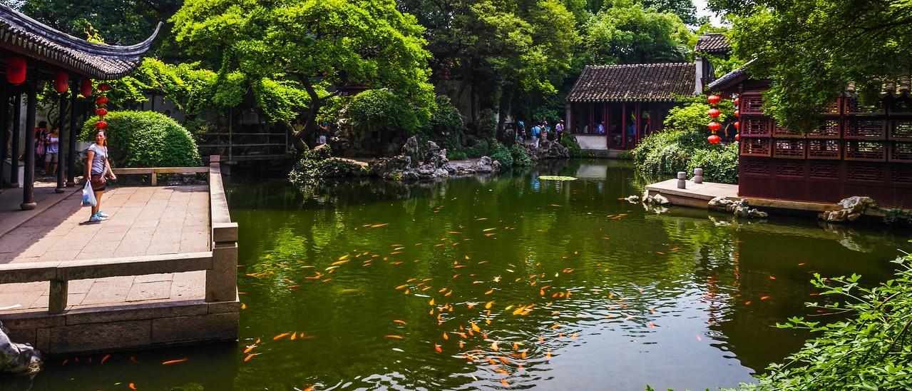 中国江苏同里,水乡庭院_图1-5