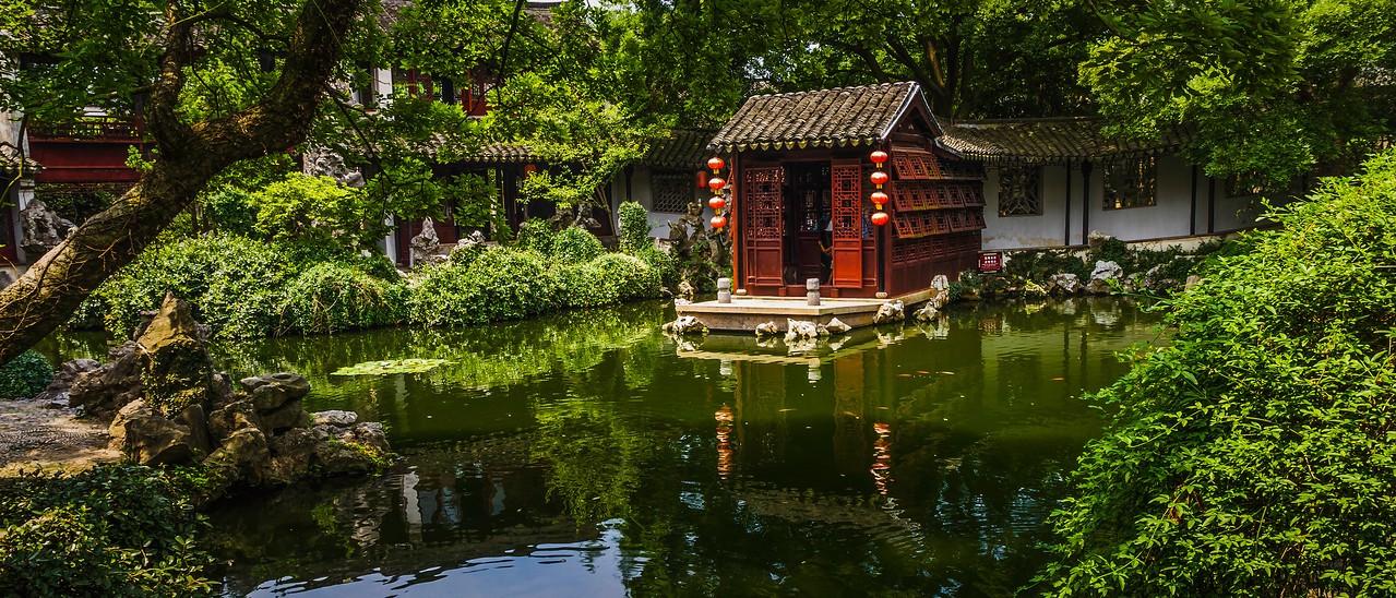 中国江苏同里,水乡庭院_图1-7