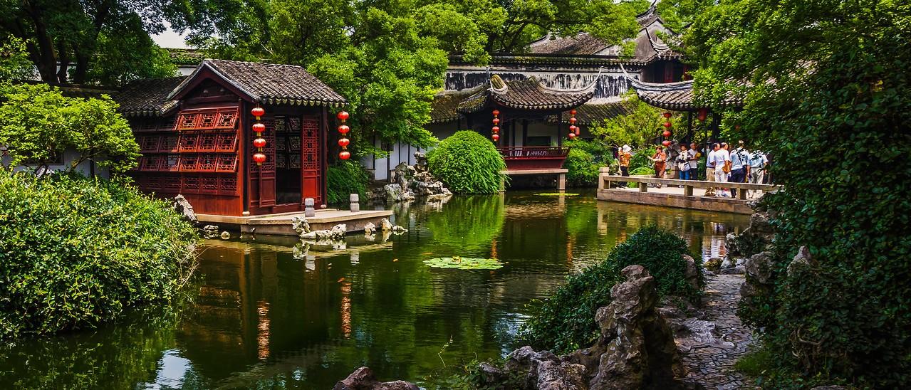中国江苏同里,水乡庭院_图1-9