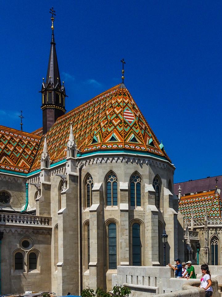 匈牙利马加什教堂,地标建筑_图1-4