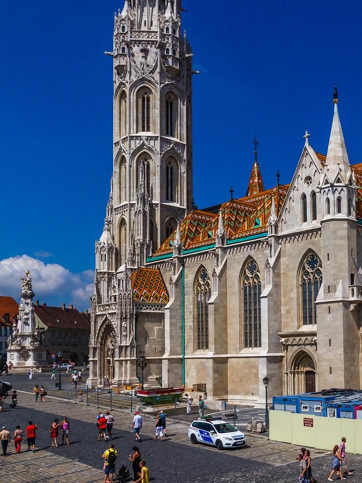 匈牙利马加什教堂,地标建筑_图1-1