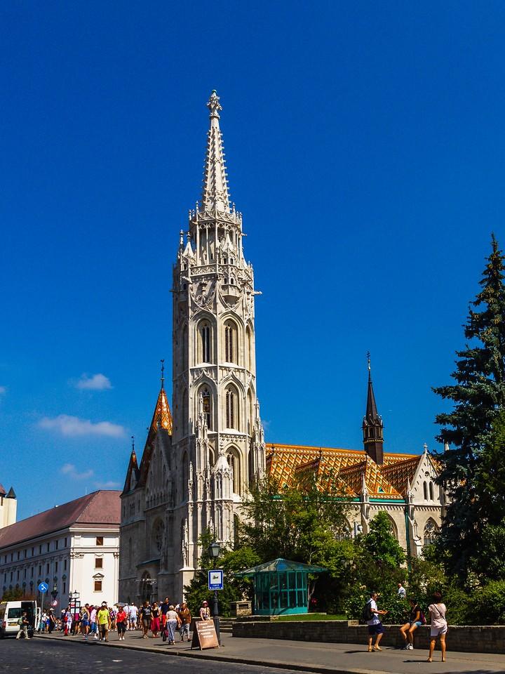匈牙利马加什教堂,地标建筑_图1-7