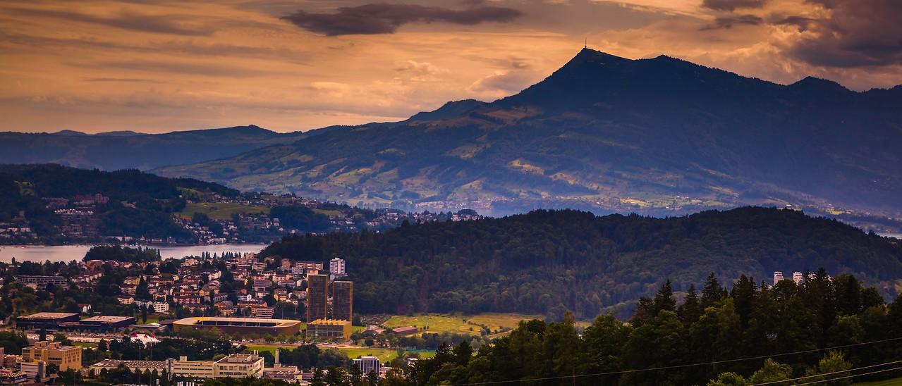 瑞士卢塞恩(Lucerne),湖中小岛_图1-9