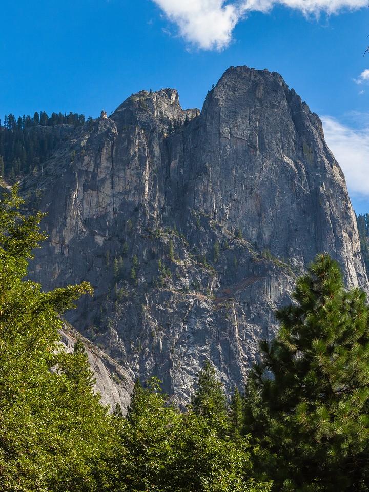 美国优胜美地国家公园,巨石热景_图1-3