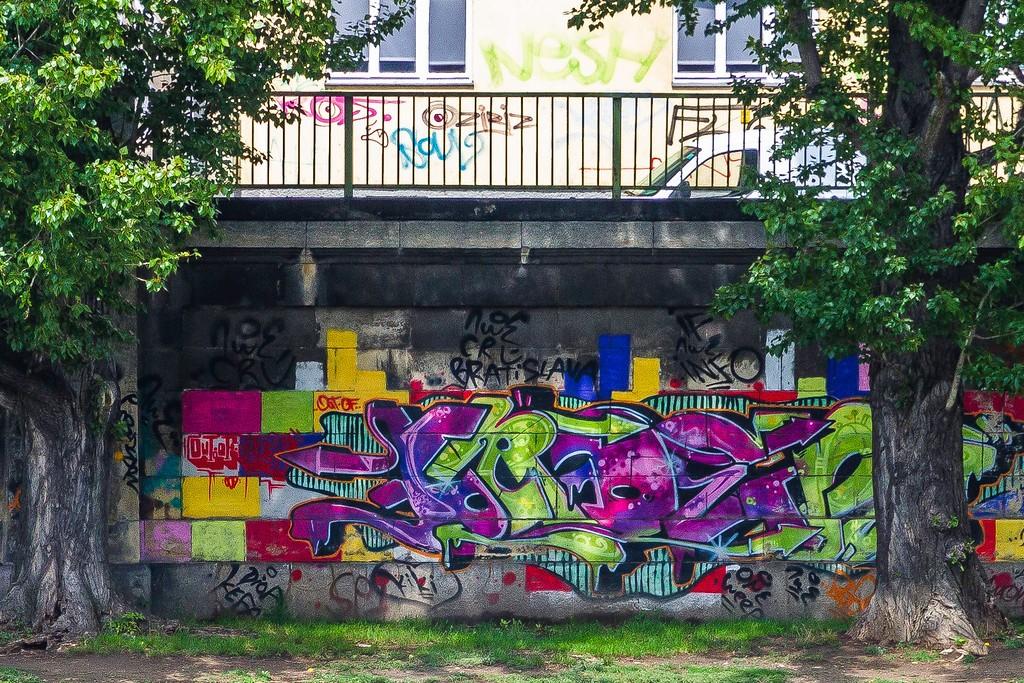 奥地利维也纳,路边涂鸦_图1-3