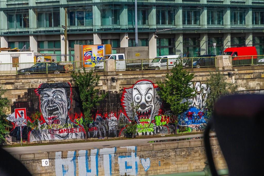 奥地利维也纳,路边涂鸦_图1-4