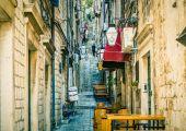 克罗地亚杜布罗夫尼克(Dubrovnik),古城小
