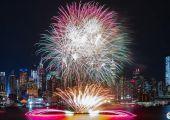 2019 纽约春节烟花秀