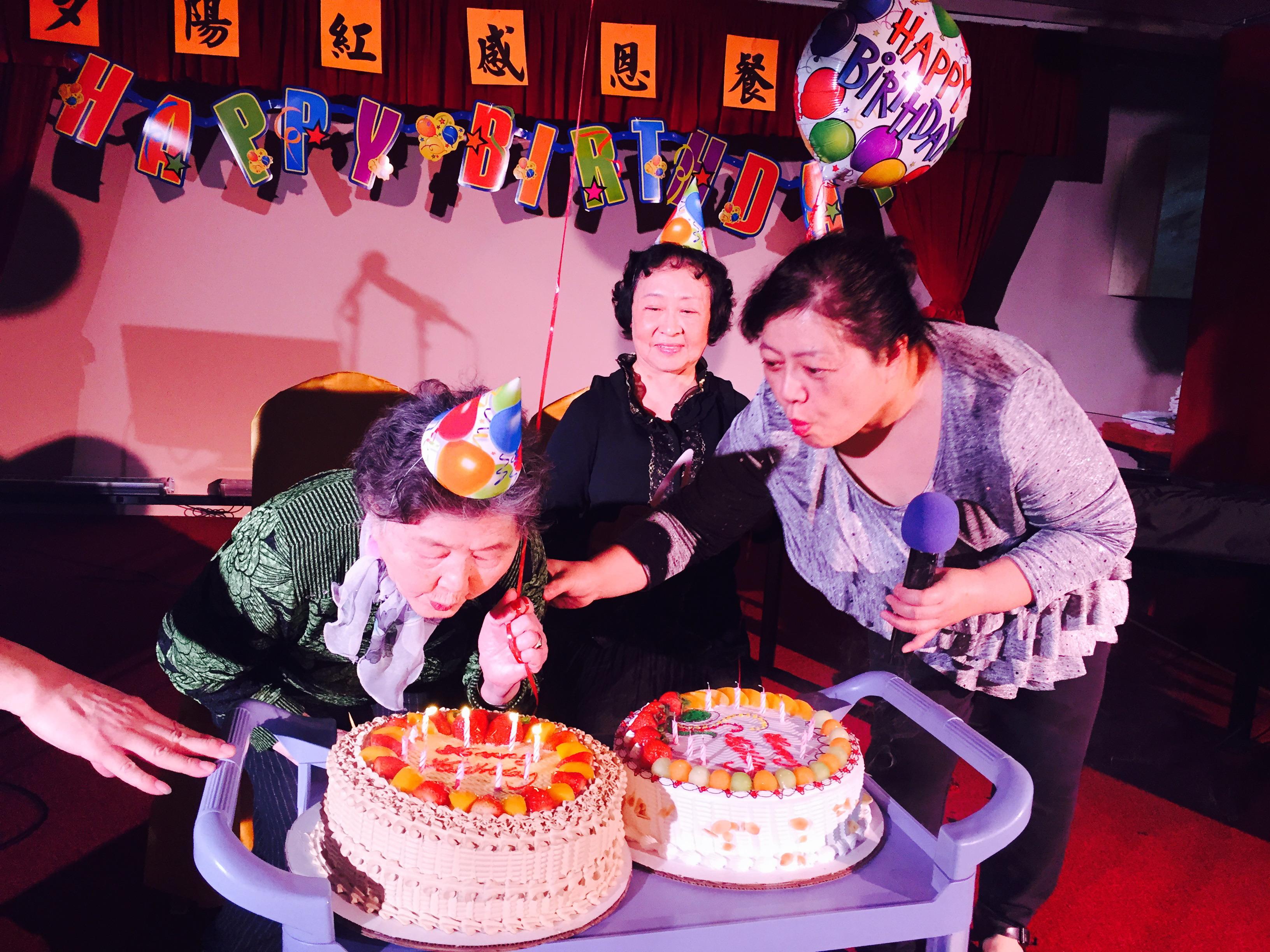 夕阳红老人日间护理中心感恩节前齐聚一堂欢度佳节【组图】_图1-4