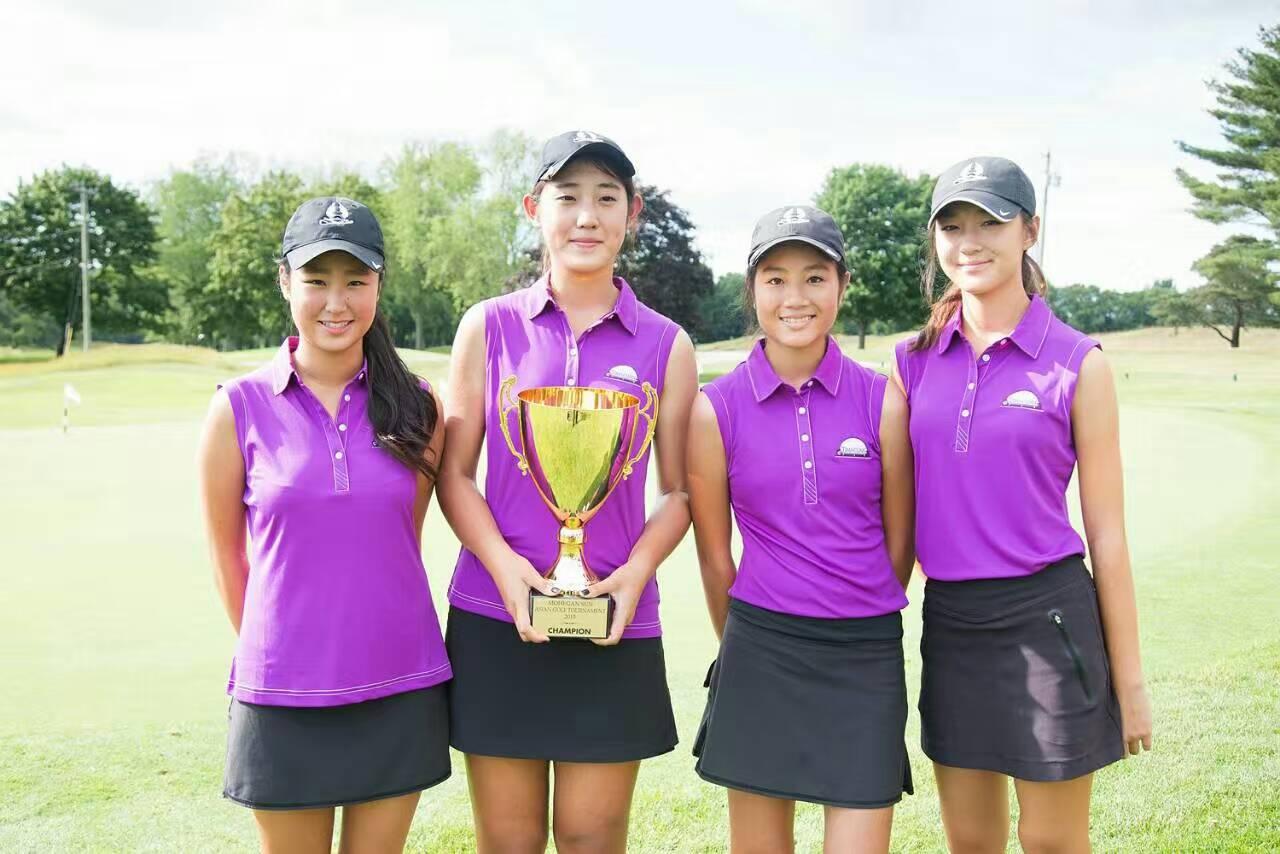 金神亚裔高尔夫球赛冠军获得LPGA佳绩