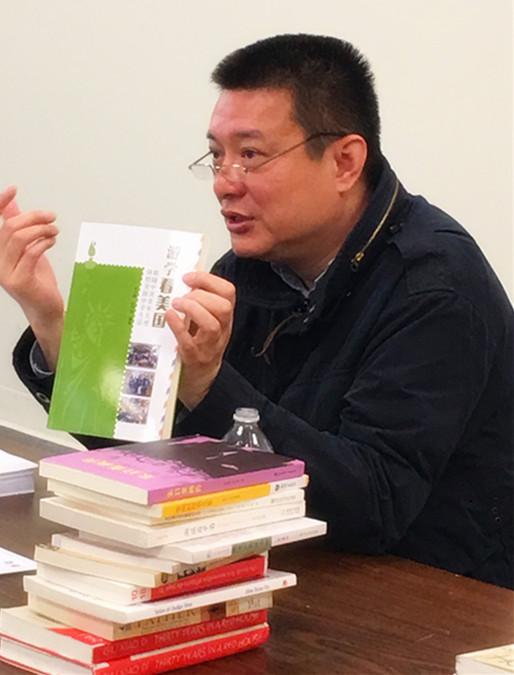 朱小棣分享《域外闲读》新华章