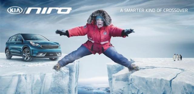 "Melissa McCarthy和全新起亚Niro一同踏上""英雄之旅"""