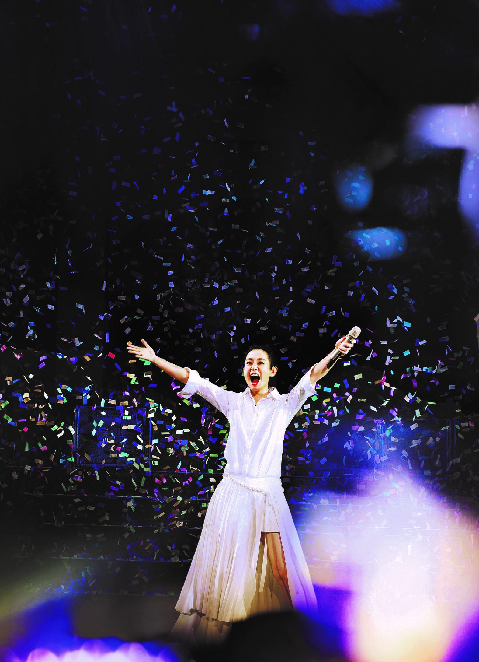 刘若英复活节金神举行「我敢Renext世界巡回演唱会」
