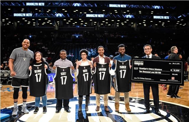 华美银行与布鲁克林篮网队共同举办篮球训练营 提供助学金助孩童实现梦想