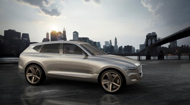 【视频】GENESIS GV80燃料电池概念休旅车正式在纽约国际车展亮相