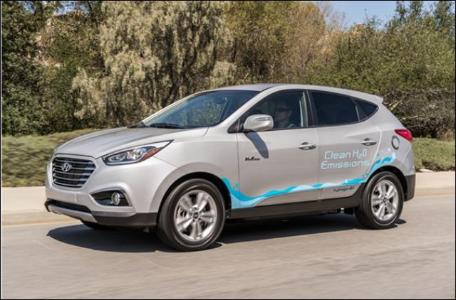 现代TUCSON FUEL CELL氢气车驾驶累计零排放里程总数已达两百万