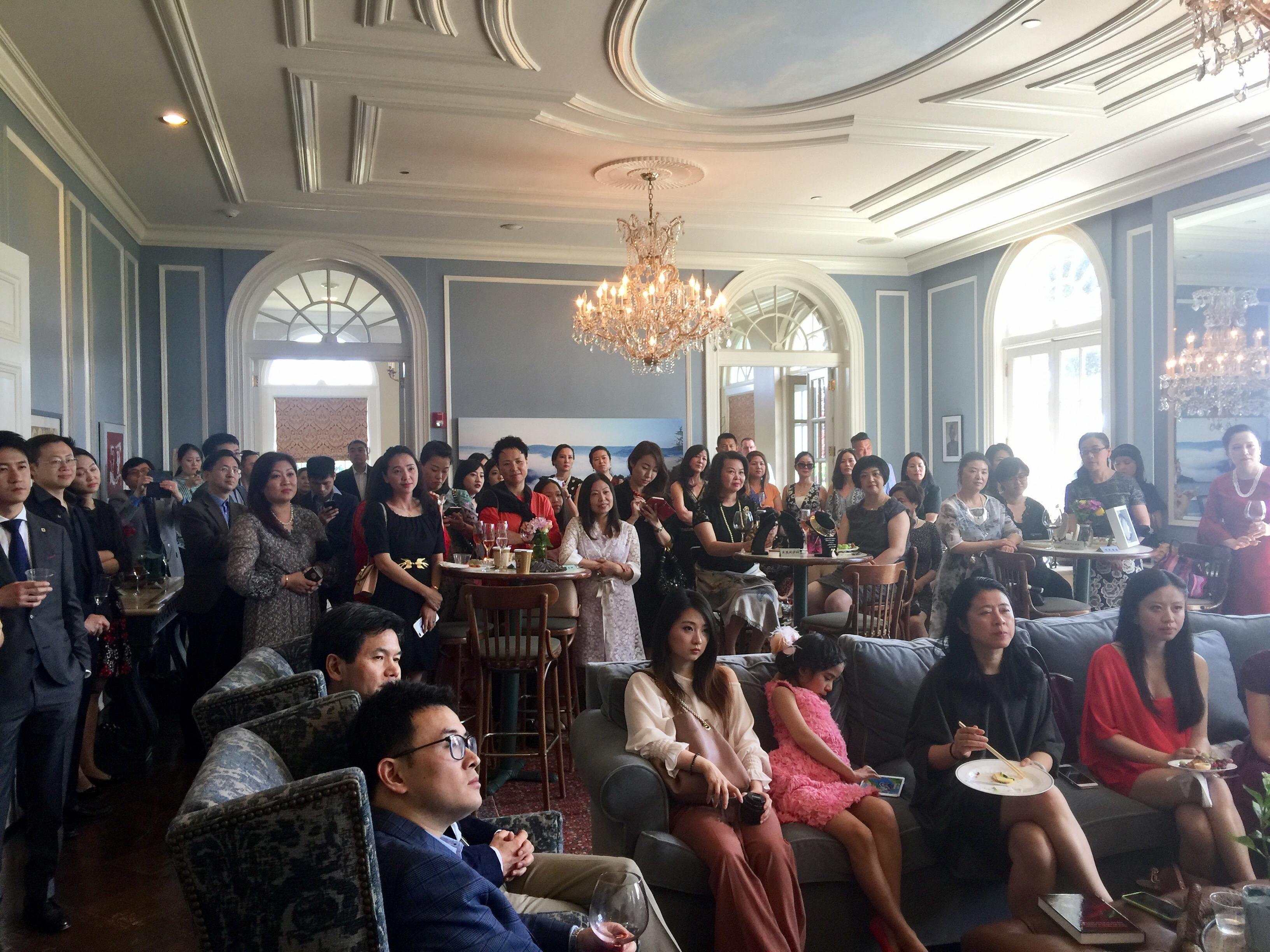 纽约国际领袖基金会及纽约青年企业家俱乐部2017春夏茶会